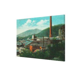 Exterior View of the Balaktala Smelter Canvas Print