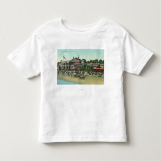 Exterior View of the Bath HouseLong Beach, CA Toddler T-Shirt