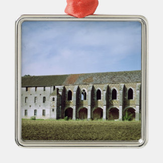 Exterior view of the Cistercian Abbey Christmas Ornament