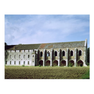 Exterior view of the Cistercian Abbey Postcard