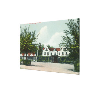 Exterior View of the Country Club 2 Canvas Print