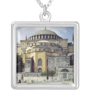 Exterior view of the cupola, 532-37 silver plated necklace
