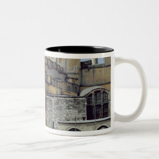 Exterior view of the cupola, 532-37 Two-Tone coffee mug