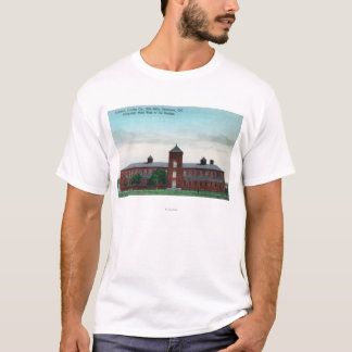 Exterior View of the Currier Co Silk Mills T-Shirt