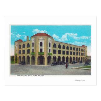 Exterior View of the Del Ming HotelYuma, AZ Postcard