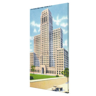 Exterior View of the Gov Smith Office Building Canvas Print