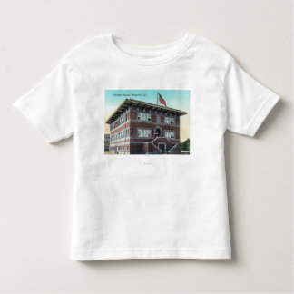 Exterior View of the Grammar School 2 Toddler T-Shirt