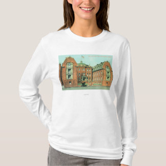 Exterior View of the Hahnemann Hospital T-Shirt