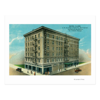 Exterior View of the Hotel Clark Post Cards