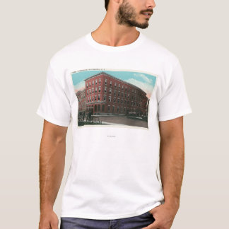Exterior View of the Hotel Cumberland T-Shirt