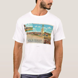 Exterior View of the Hotel el Rancho T-Shirt
