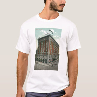 Exterior View of the Hotel Rochester T-Shirt