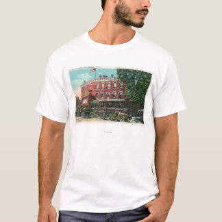Exterior View of the Hotel Witherill T-Shirt