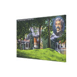 Exterior View of the Mark Twain Memorial # 2 Gallery Wrapped Canvas