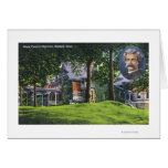 Exterior View of the Mark Twain Memorial # 2 Greeting Cards
