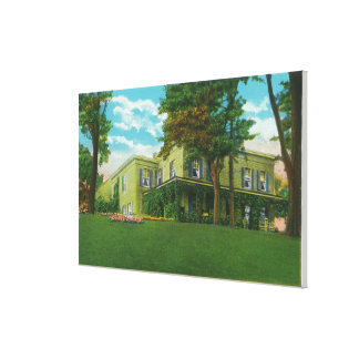Exterior View of the Marshall House Canvas Print