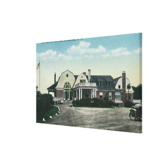 Exterior View of the Mohawk Golf Club Stretched Canvas Prints