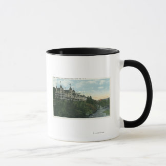 Exterior View of the Mount Pleasant Hotel # 2 Mug