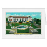 Exterior View of the New Atascadero Inn Bungalow Greeting Card