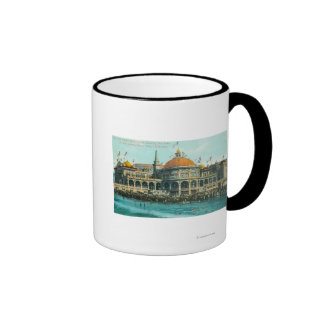Exterior View of the New Casino from the Beach Mug