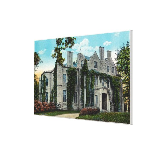 Exterior View of the Oakland Mansion Stretched Canvas Prints