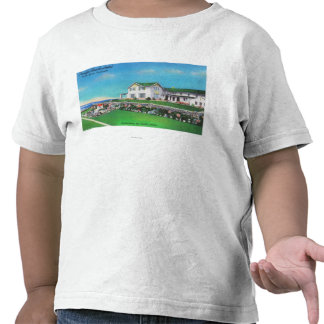 Exterior View of the Pacific Beach Hotel Tee Shirt