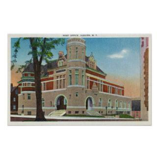 Exterior View of the Post Office 3 Poster