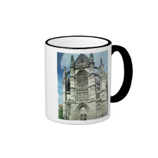Exterior view of the south facade coffee mug