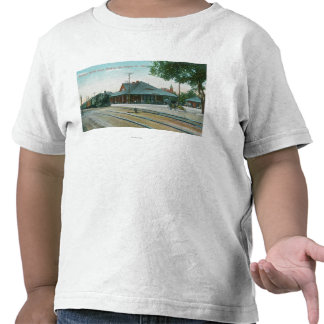 Exterior View of the Southern Pacific Depot T-shirts