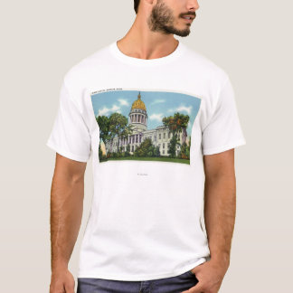 Exterior View of the State Capitol Building # 2 T-Shirt