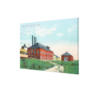 Exterior View of the Sugar Factory Canvas Print