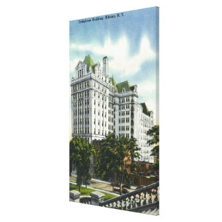 Exterior View of the Telephone Building # 2 Canvas Print