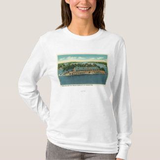 Exterior View of the Thousand Island Yacht T-Shirt