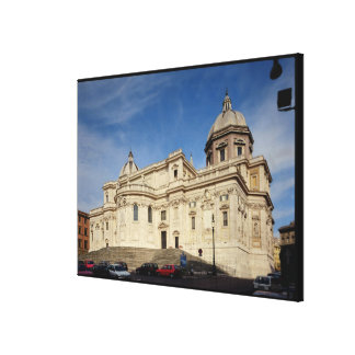 Exterior view of the tribune canvas print