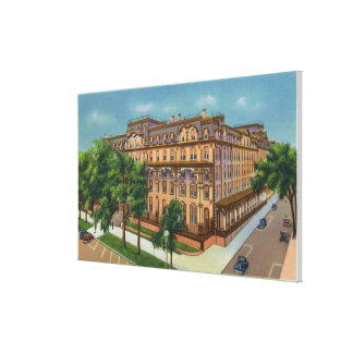 Exterior View of the US Hotel Canvas Print
