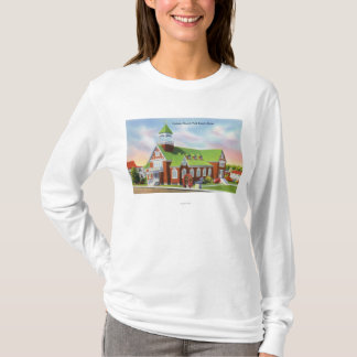 Exterior View of the York Beach Catholic T-Shirt