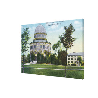 Exterior View of Union College Library Canvas Print