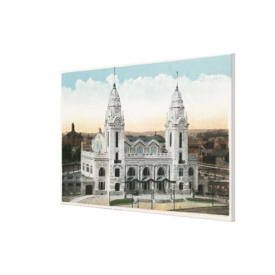 Exterior View of Union Station Canvas Print