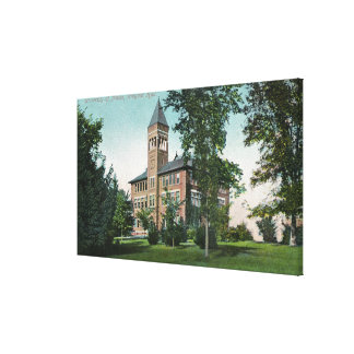Exterior View of Wingate Hall Canvas Print