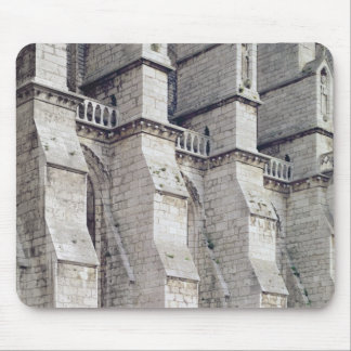 Exterior View showing the Buttresses Mouse Mat