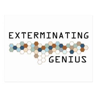 Exterminating Genius Postcard
