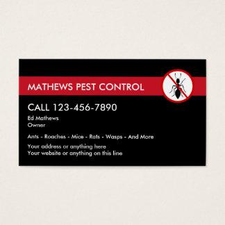 Exterminating Pest Control