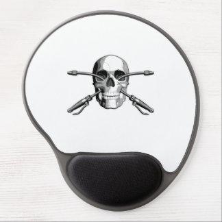 Exterminator Skull Gel Mouse Pad