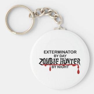 Exterminator Zombie Hunter Keychains