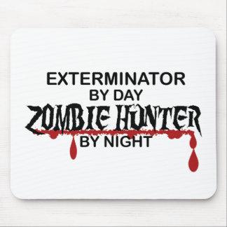 Exterminator Zombie Hunter Mouse Pads