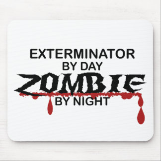 Exterminator Zombie Mouse Pad