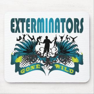 Exterminators Gone Wild Mouse Pad