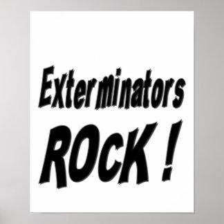 Exterminators Rock! Poster Print
