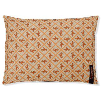External cushion for Afghan hound