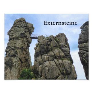 Externsteine, Typo, Teutoburg Forest 002.03 Photograph
